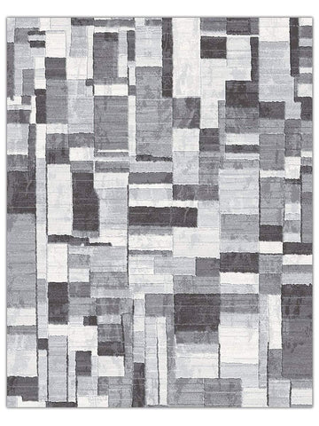 Designer Collection - Carbon 7696 Machine Made Area Rug - Jordans Flooring