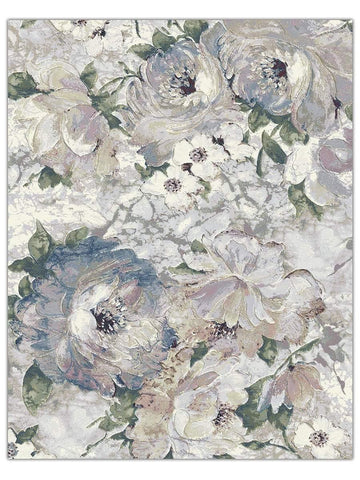 Designer Collection - Floral 6121, Machine Made Area Rug - Jordans Floor Covering