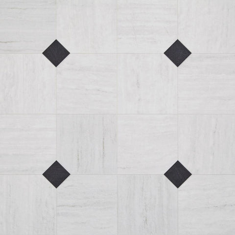 Luxury Vinyl Sheet - Empire / Carrara White Sheet Vinyl - Jordans Flooring