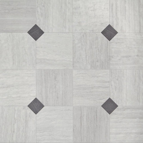 Luxury Vinyl Sheet - Empire / Fieldstone Grey Sheet Vinyl - Jordans Flooring