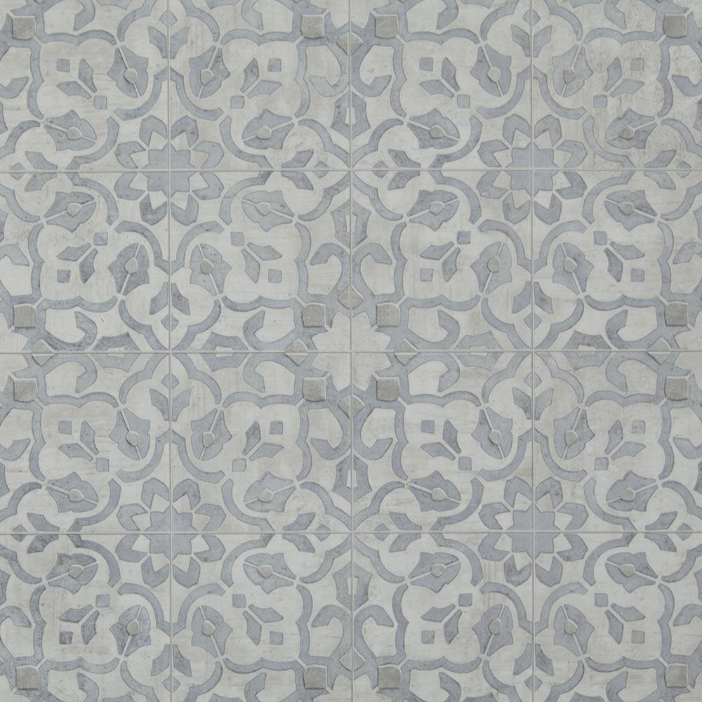 Luxury Vinyl Sheet - Filigree / Pewter Sheet Vinyl - Jordans Flooring