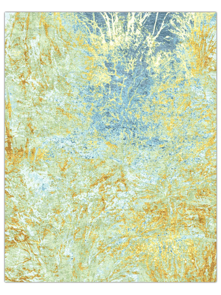 Rohit - Copper Blue Reef, Area Rug - Jordans Floor Covering