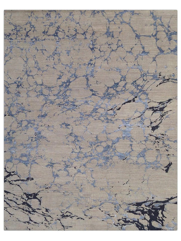 Torino - Blue/Multi Marbled Area Rug - Jordans Flooring