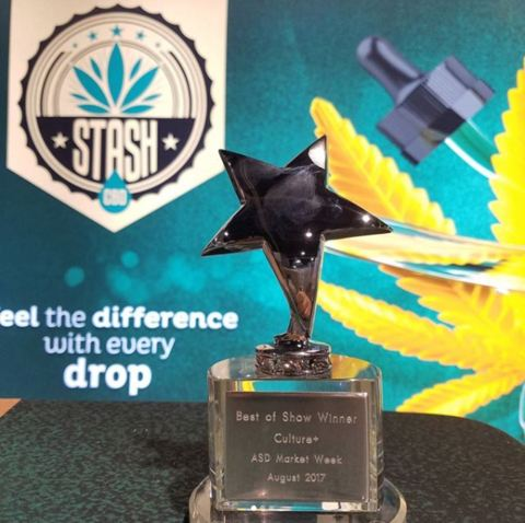 Best of Show Winner Culture+ ASD Marketing Week August 2017 Stash CBD