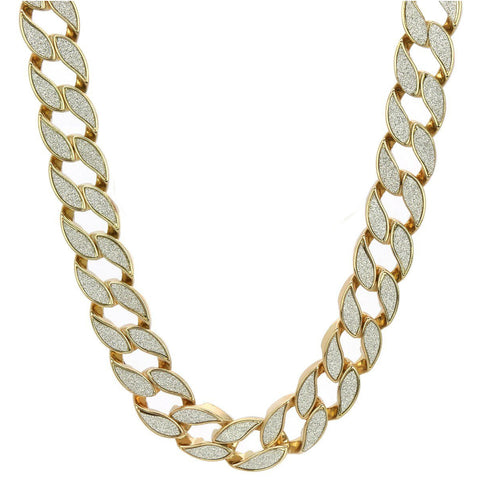 GOLD STARDUST CHAIN Cuban
