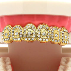 GOLD TOP GRILLZ CROWN