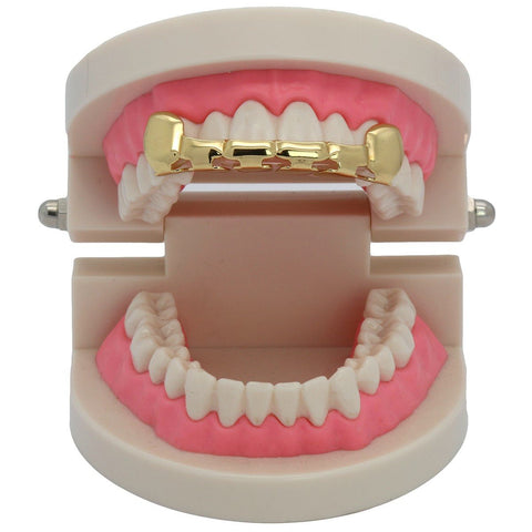 GOLD TOP GRILLZ HALF SLIM