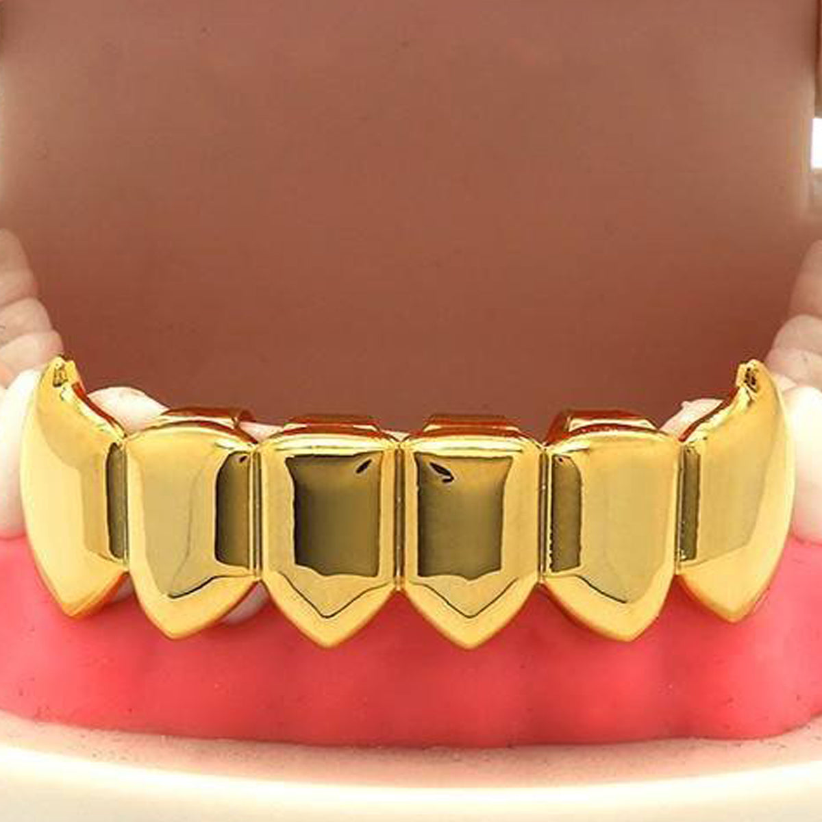 GOLD BOTTOM GRILLZ FANG