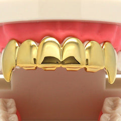 GOLD GRILLZ TOP FANG