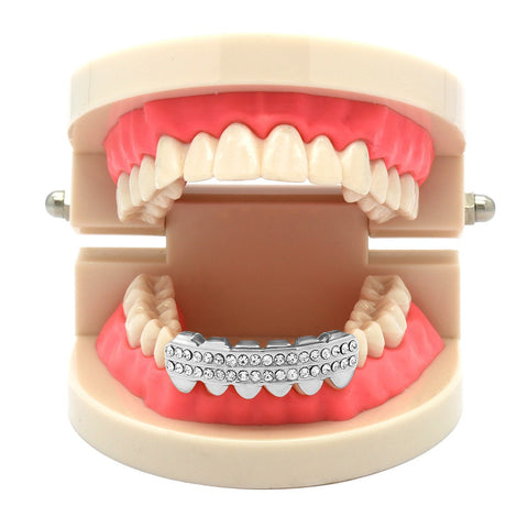 SILVER BOTTOM GRILLZ  ROW