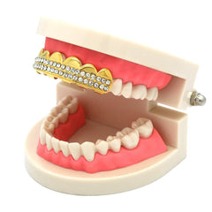 GOLD TOP GRILLZ 2 ROW