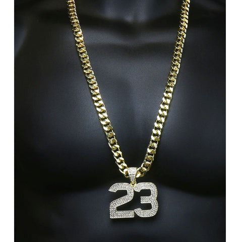 Gold 23 NECKLACE