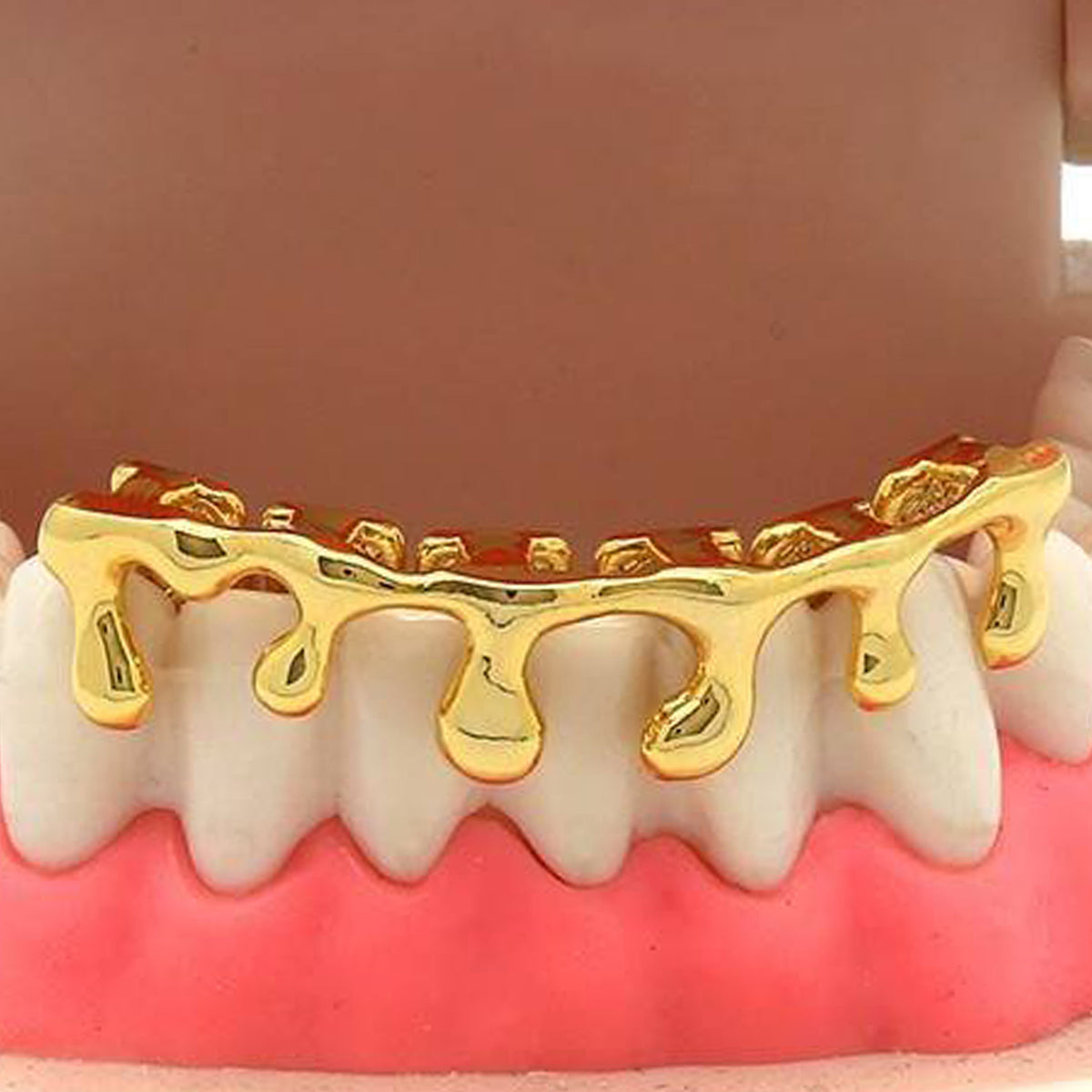 GOLD BOTTOM GRILLZ DRIP