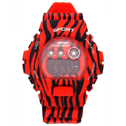 Red Shock Watch