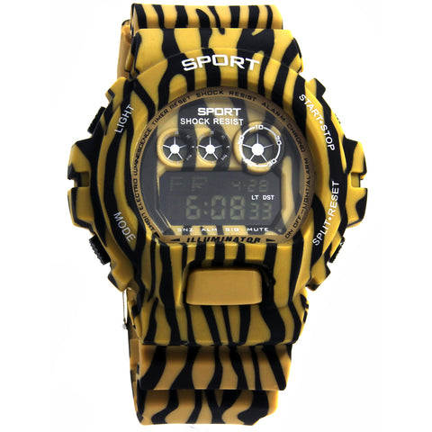 Yellow Green Shock Watch