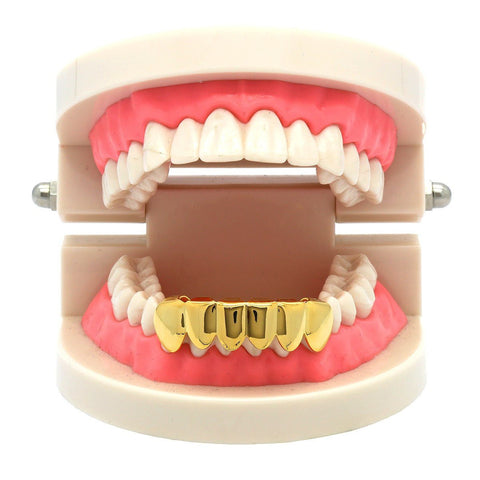 GOLD BOTTOM GRILLZ