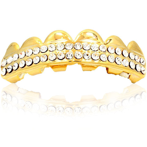 GRILLZ SET GOLD 2 ROW