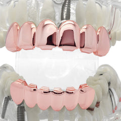 Grillz Set Rose Plain KINGSTAR