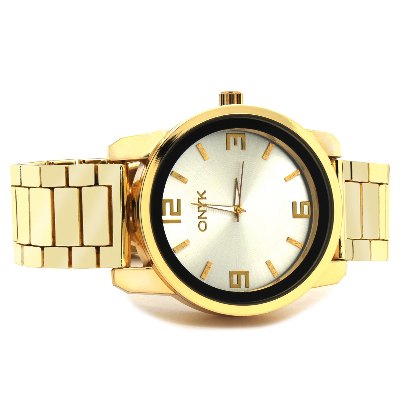 Gold ONYK G# Metal Band Watch
