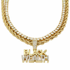 TENNIS Bundle Set-BLACK WEALTH