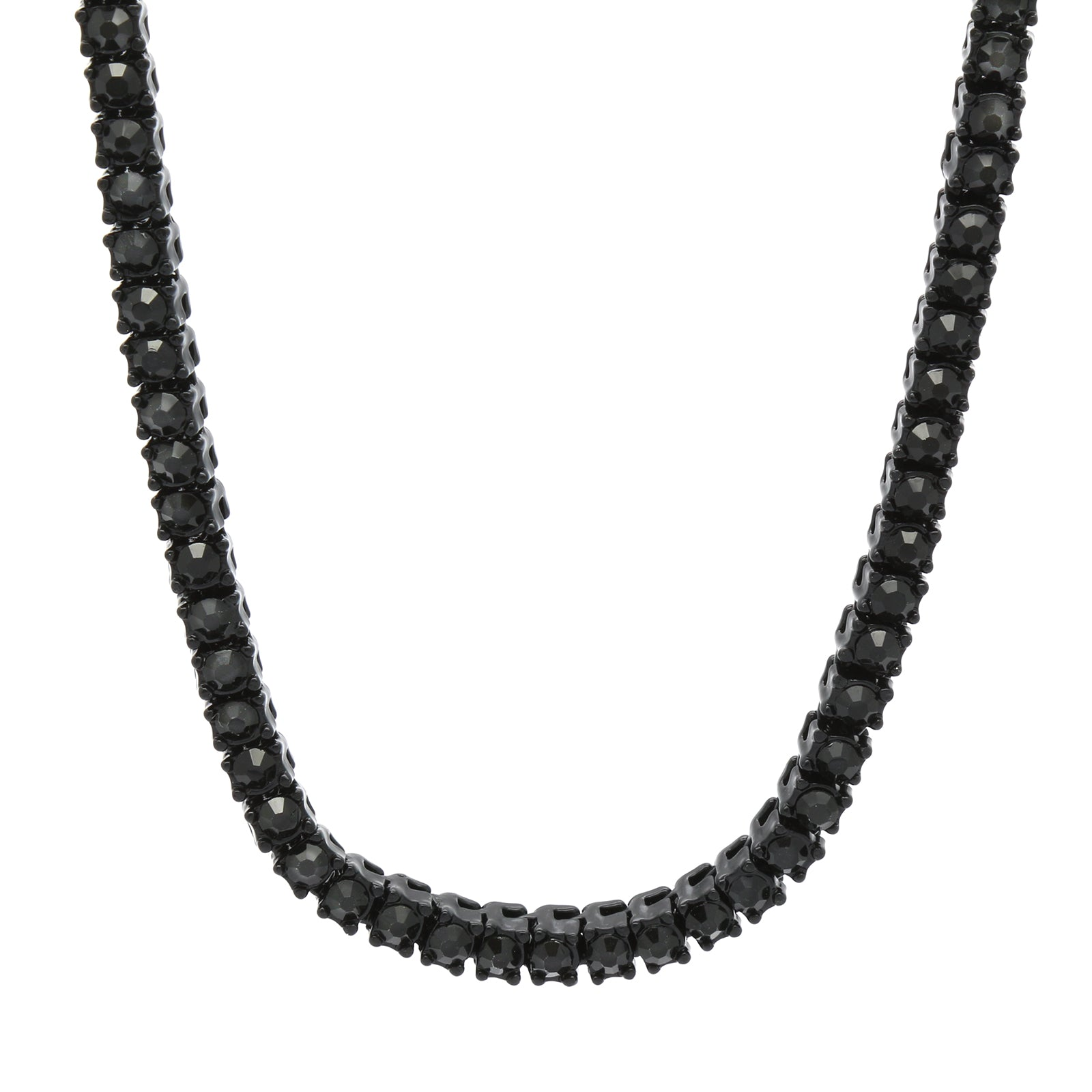"TENNIS CHAIN 30""BLACK"