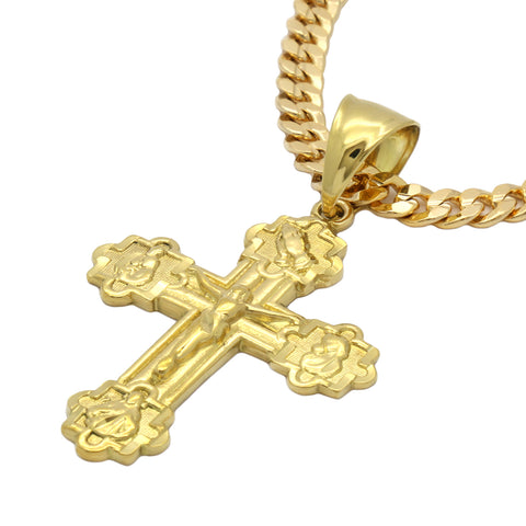 ETERNAL EDGE CROSS PENDANT