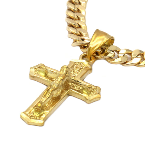 JESUS HANG CROSS PENDANT