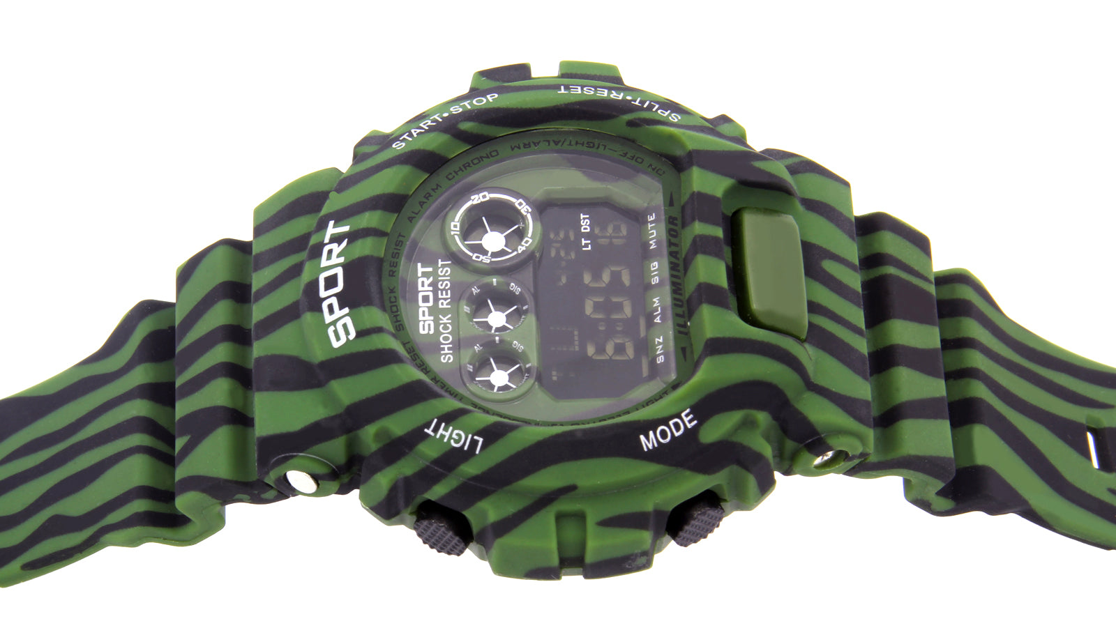 Green Shock Watch