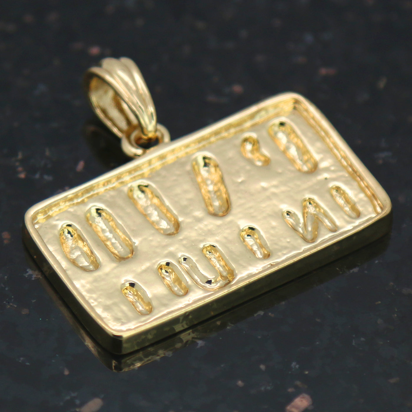 Paid in Full Pendant with Gold Rope Chain
