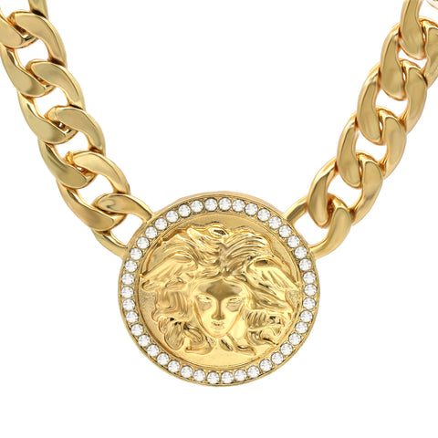 MEDUSA NECKLACE GOLD