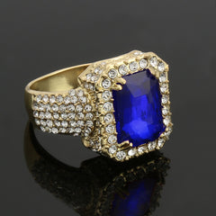 GOLD Blue Ruby