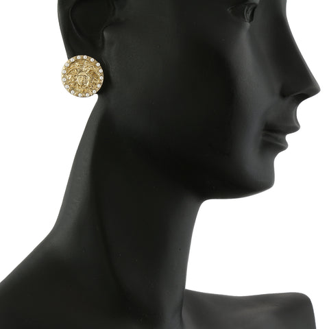 MEDUSA GOLD FILLED EARRINGS