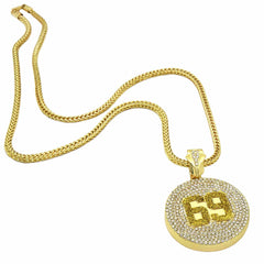 Gold 69 NECKLACE