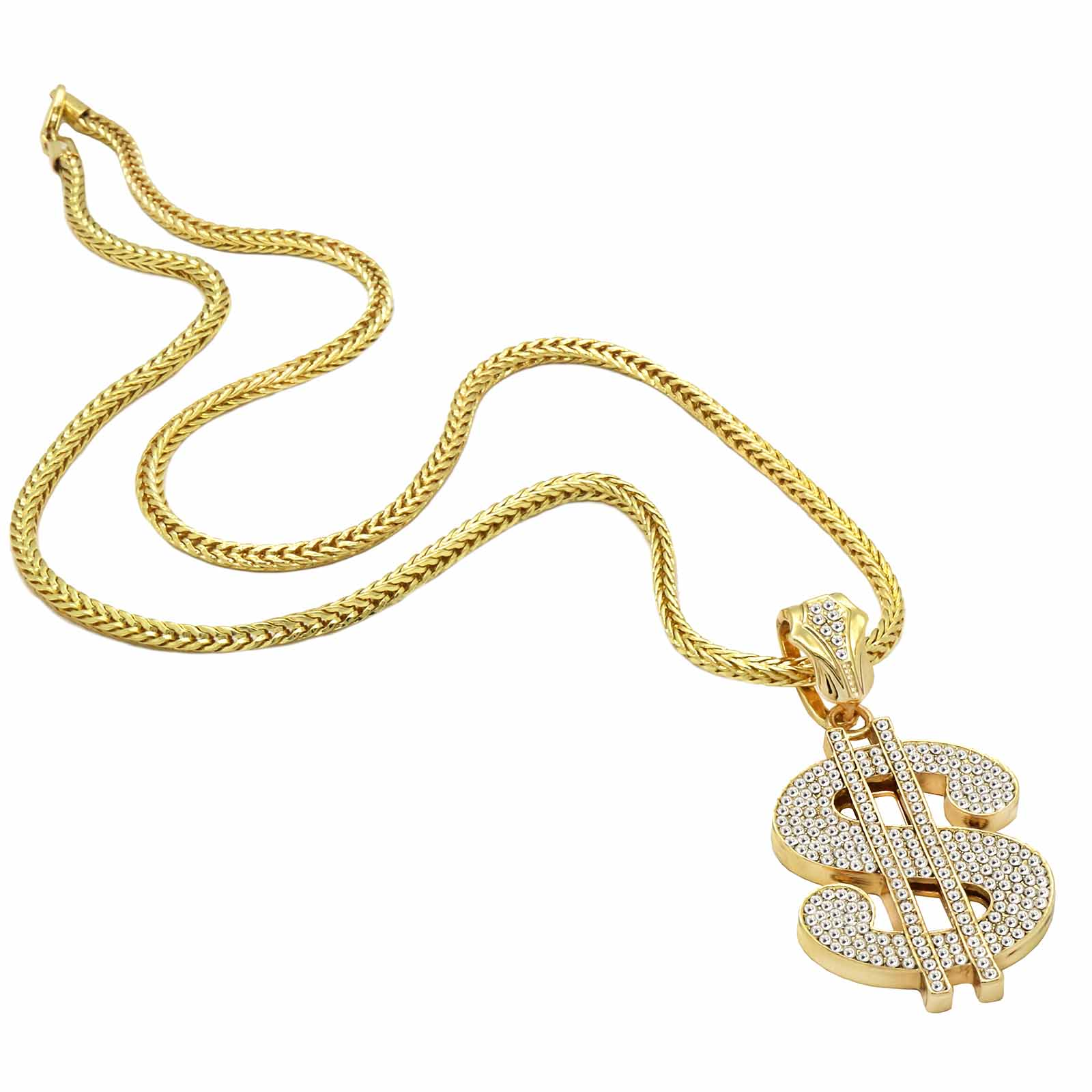 Gold $ NECKLACE