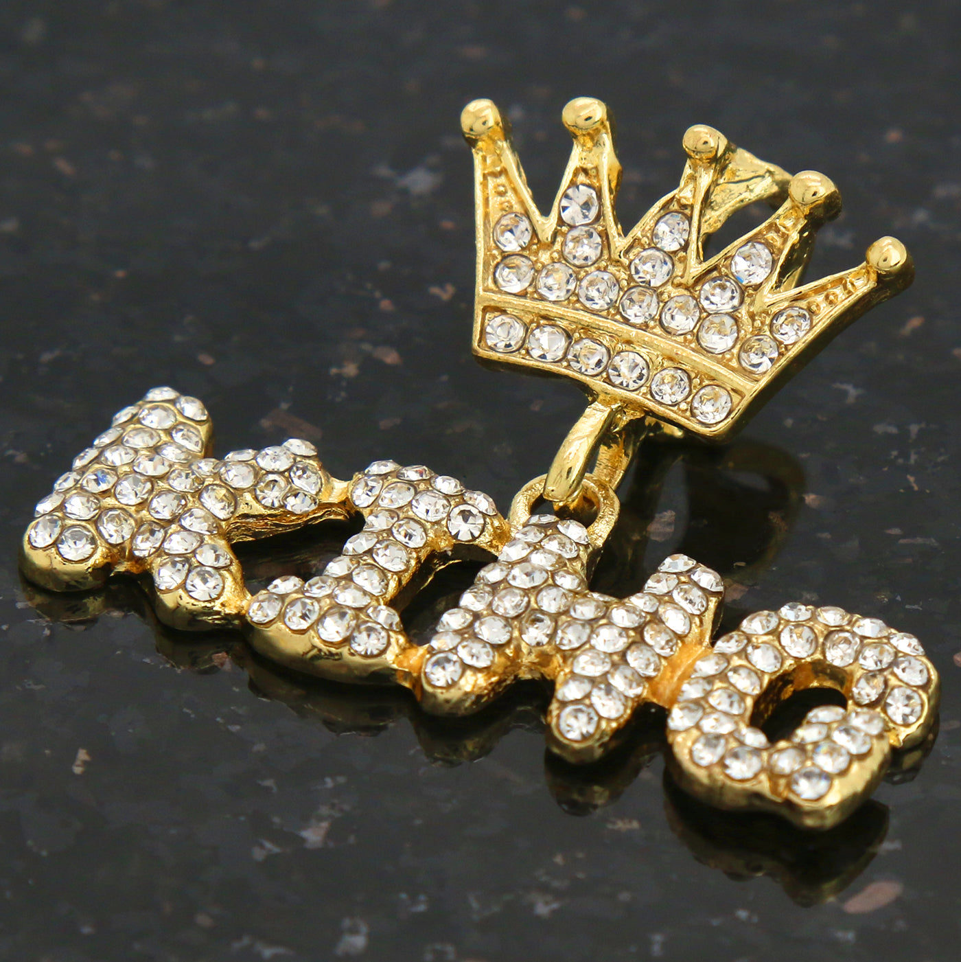 GOLD KING CROWN ICED