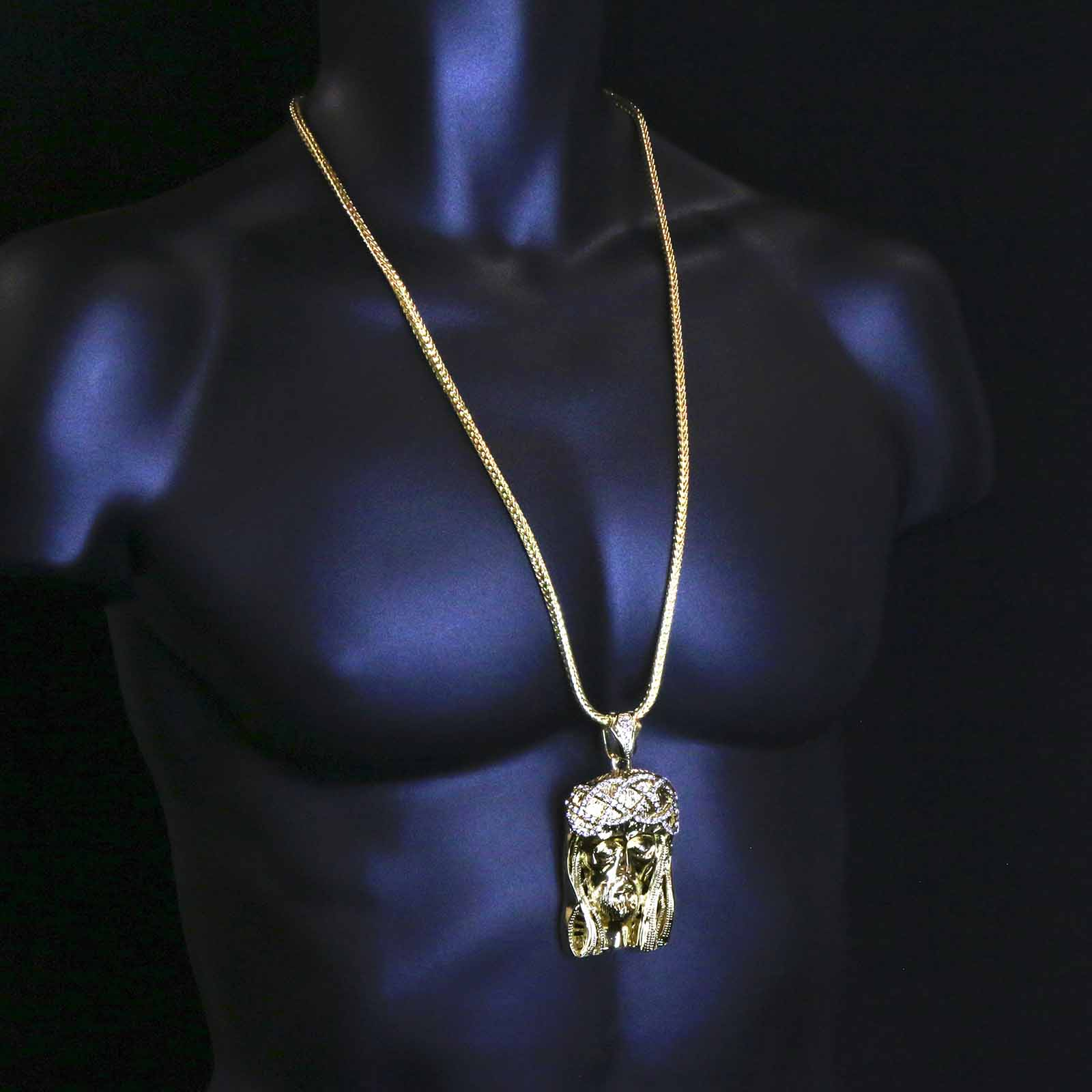 Gold  JESUS NECKLACE A