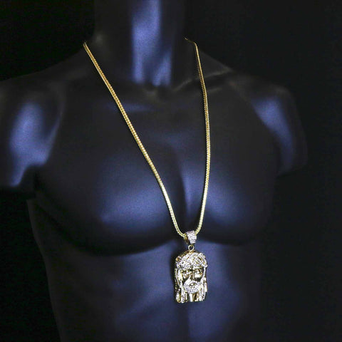 Gold  JESUS NECKLACE B