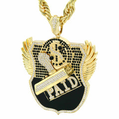 Gold PAID NECKLACE GIANT