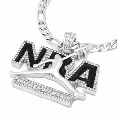 The Never Broke Again Necklace S2 black