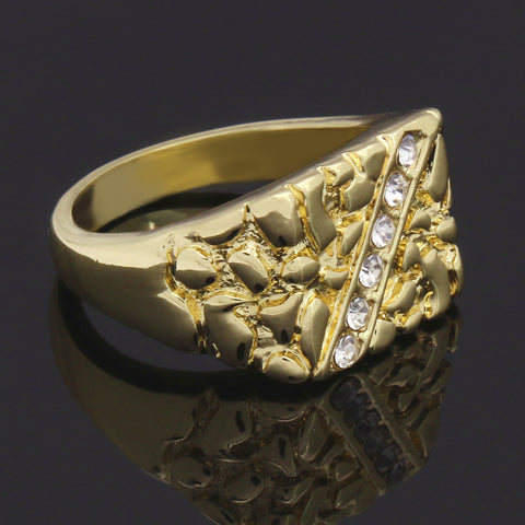 GOLD NUGGET CZ /