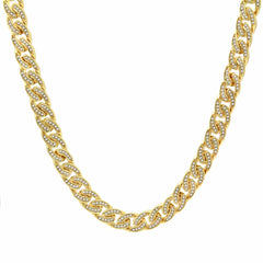 "CUBAN CHAIN 11MM/30""INCHES+16MM/24"""