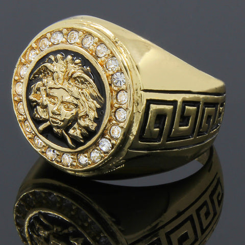 MEDUSA RINGS GOLD