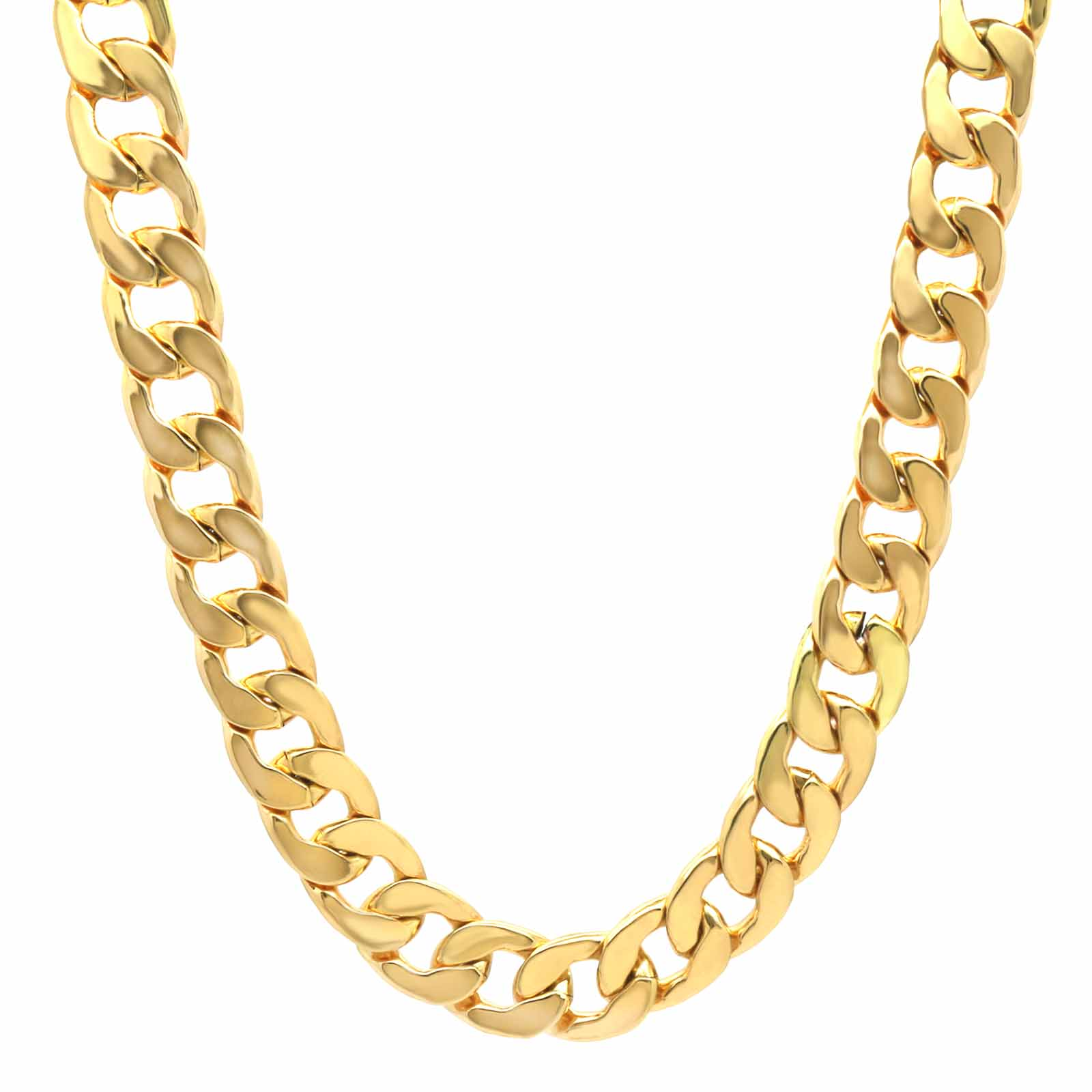 "CUBAN CHAIN 8MM/30""+16MM/24"""