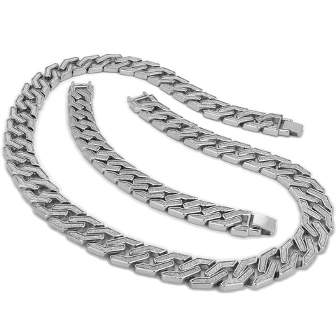 SQUARED STARDUST CHAIN