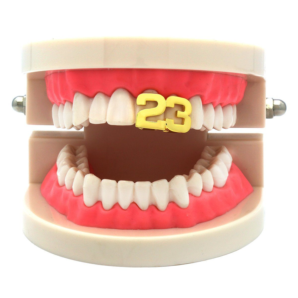 GOLD #23 TOP GRILLZ