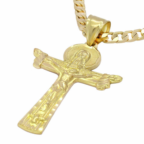 REDEEMER CROSS CRUCIFIX PENDANT