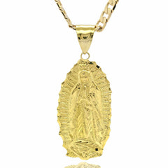 VIRGIN MARY GUADALUPE LARGE PENDANT
