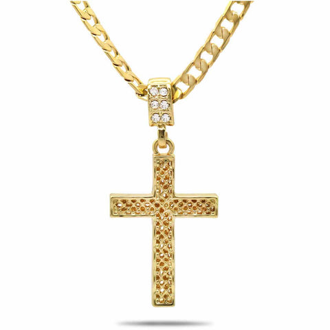 The Net Cross Necklace 16