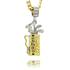 The Golf Bag Necklace