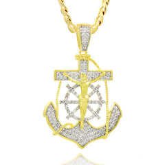 ANCHOR PENDANT WITH Free Chain
